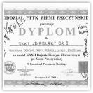 (4/5): Dyplom za udział w Rajdzie Pieszym i Rowerowym po Ziemi Pszczyńskiej<br>6 czerwca 2009r.<br>\