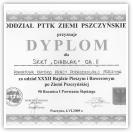 (5/5): Dyplom za udział w Rajdzie Pieszym i Rowerowym po Ziemi Pszczyńskiej<br>6 czerwca 2009r.<br>\