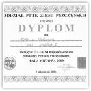 (4/9): III miejsce w XI Rajdzie Rajdzie Górskim Młodzieży Powiatu Pszczyńskiego<br>3 października 2009r.