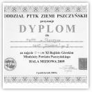 (6/9): VI miejsce w XI Rajdzie Rajdzie Górskim Młodzieży Powiatu Pszczyńskiego<br>3 października 2009r.\