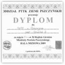(5/9): IV miejsce w XI Rajdzie Rajdzie Górskim Młodzieży Powiatu Pszczyńskiego<br>3 października 2009r.\