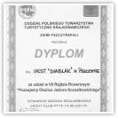 (2/14): Dyplom za udział w VII Rajdzie Rowerowym dla UKST DIABLAK<br>14.05.2011r.